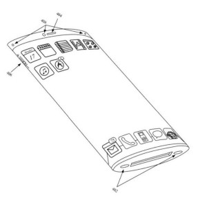 Apple patente un nuevo sensor para mejorar el uso de pantallas táctiles curvas