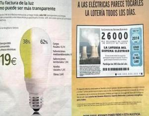 La batalla por la factura de la luz salta al frente publicitario