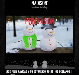 Así se comen este año el turrón las agencias españolas: 23 felicitaciones navideñas