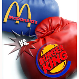 ¿Intenta Burger King ser el nuevo McDonald's?
