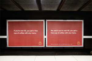 ¿Es esta campaña de McDonald's audaz o simplemente irrespetuosa? Vea y decida