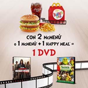 McDonald´s te acerca el mejor cine con sus menús