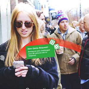 ¿Una aplicación móvil para jugar con desconocidos por la calle?