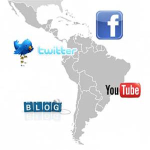 redes sociales latinoamerica