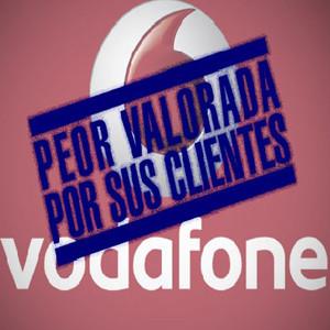 Vodafone repite como la operadora peor valorada por sus clientes, según Facua