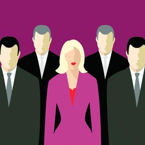 Sólo 7 de las 500 empresas más importantes tienen un 40% de mujeres entre sus altos cargos