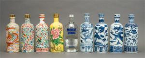 Cuando los logos de grandes marcas se transforman en delicadas piezas de porcelana china