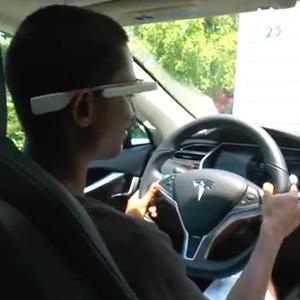 Una aplicación de Google Glass evita que el conductor se duerma al volante