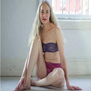 Una mujer de 62 años, imagen de lencería para American Apparel