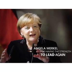 Microsoft rinde homenaje a la heroicidad de Angela Merkel y otras mujeres en un nuevo spot