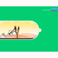 ¿Qué hacen los Angry Birds dentro de un preservativo Durex? Una joven rusa tiene la respuesta