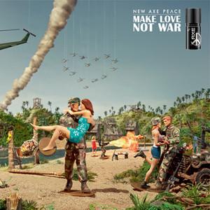 Axe lanza un mensaje de paz en su anuncio para la Super Bowl