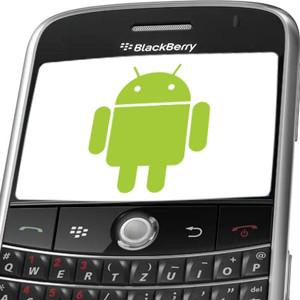 BlackBerry permitirá el uso de aplicaciones de Android en sus dispositivos