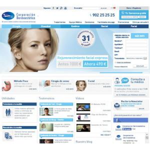 Corporación Dermoestética estrena web de la mano de What If