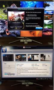 Samsung experimenta con Yahoo! la fórmula de introducir publicidad en sus Smart TVs