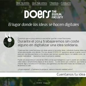 DOERS DF empieza el año digitalizando una idea solidaria sin coste alguno