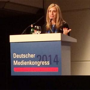N. Mendelsohn (Facebook) en #MedienKongress: