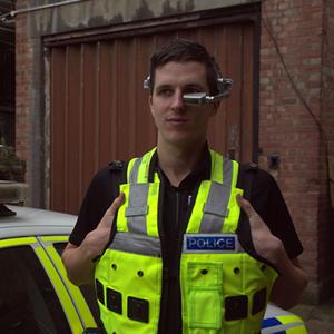google glass policia