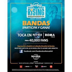 Vuelve Hard Rock Rising, la batalla de bandas emergentes más grande del mundo