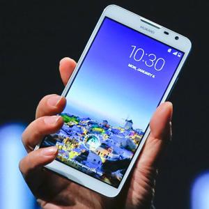 Huawei Ascend Mate 2, Richard Yu, Consumer Electronics Show, CES