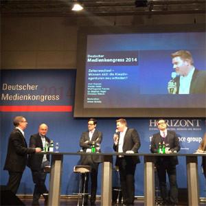 #MedienKongress: ¿Cambia el ADN de las agencias de publicidad en la nueva era digital?