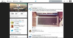 La homepage de Twitter pasa por chapa y pintura y se inspira en el
