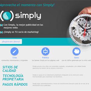 Si tienes un sitio web, ¡benefíciate ya de la oportunidad que te da SIMPLY!