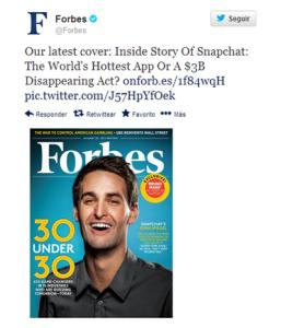 El CEO de Snapchat revela por qué rechazó la oferta de compra de Facebook por 3.000 millones de dólares