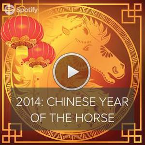 Celebra el Año del Caballo con Spotify