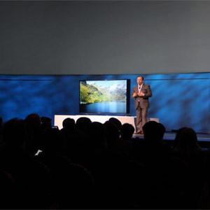 Samsung llega a CES 2014 con televisores UHD curvos, una prestigiosa colección de dispositivos para la cocina y tablets
