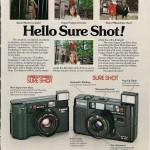 23 anuncios vintage de cámaras de fotos que dejan en ridículo a Instagram