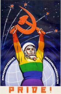 La propaganda soviética sale del armario para mostrar al mundo su orgullo gay