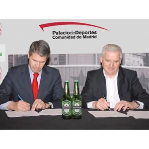 El Palacio de Deportes de Madrid elige a HEINEKEN España como socio cervecero