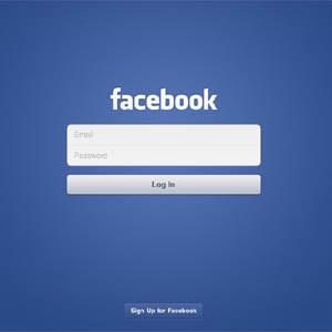 Para iniciar sesión, mejor desde nuestra cuenta de Facebook