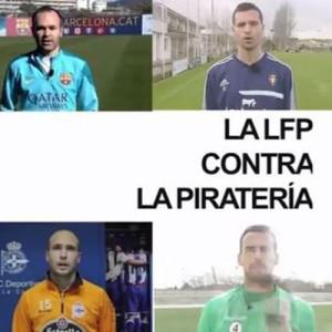 La Liga de Fútbol Profesional se une contra la piratería
