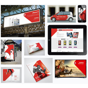 Power of Red Vodafone
