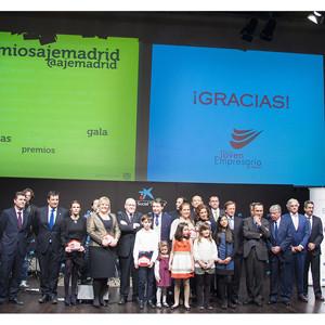 Catalina Hoffmann ganadora del Premio Joven Empresario de Madrid