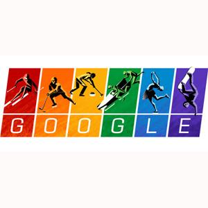 Google apoya a la comunidad gay con su doodle dedicado a los Juegos de Sochi