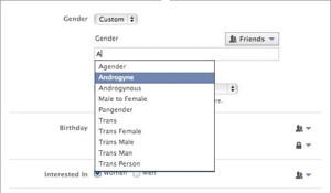 ¿Hombre, mujer, transgénero, pangénero? En Facebook será posible ahora elegir entre varias opciones de género