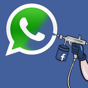 Facebook a WhatsApp: me das tantísimo miedo que no me importa comprarte por 19.000 millones de dólares