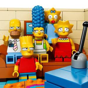 Los Simpson celebran su 25 cumpleaños convirtiéndose en bloques de Lego