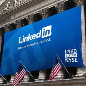 Las acciones de LinkedIn se contagian del