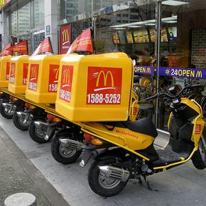 El servicio de reparto a domicilio de McDonald's podría muy pronto echar anclas en Europa