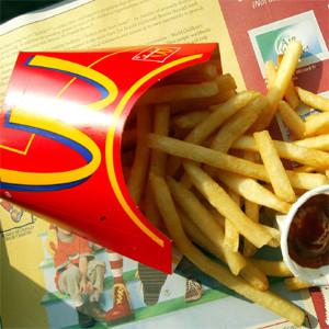 En Argentina los clientes de McDonald's se tienen comer las patatas fritas