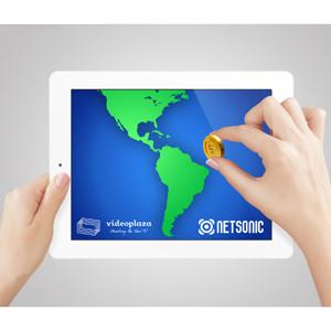 Netsonic y Videoplaza traen la monetización del vídeo a Latinoamérica