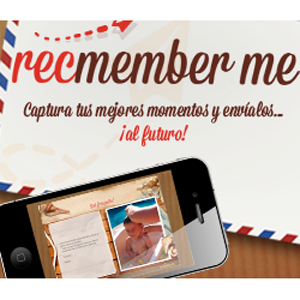 Recmember me, una nueva aplicación para enviar tus recuerdos al futuro
