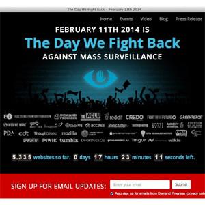 Internet se viste hoy de negro para plantar cara al espionaje masivo en la red