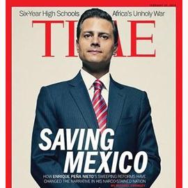 La revista 'Time' causa gran revuelo en Twitter con su portada de Peña Nieto como