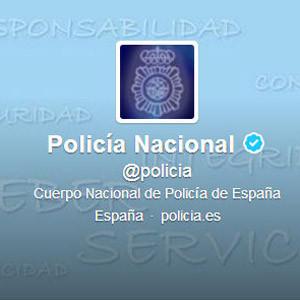 La Policía Nacional supera al FBI como el cuerpo de seguridad con más seguidores en Twitter