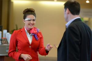 La aerolínea Virgin Atlantic se apunta a la moda de las Google Glass para añadir glamour a su atención al cliente
